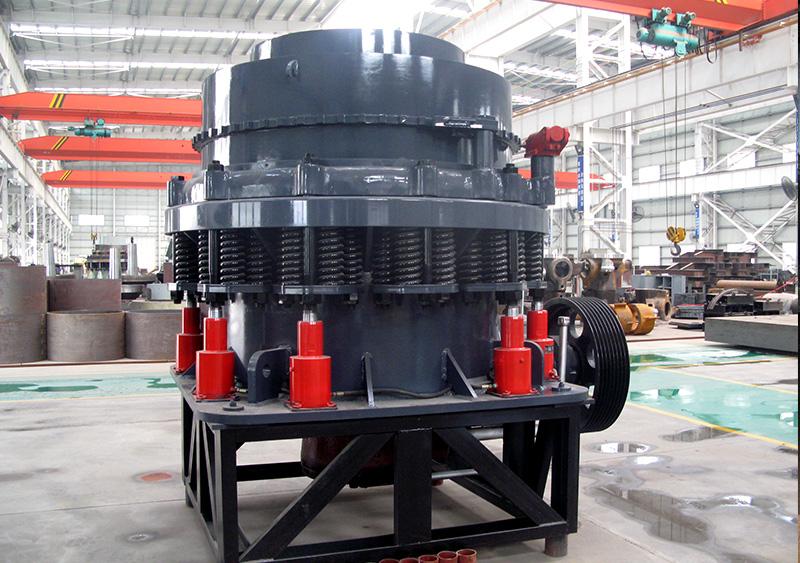 cone crusher in factory